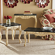 victoria coffee table  console and side table