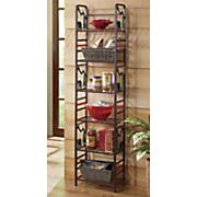 lodge bear 6 tier shelf