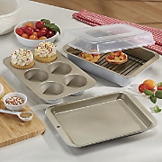 5 pc  compact oven bakeware by nordic ware