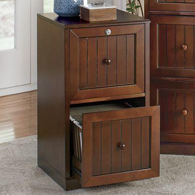 2-Drawer Locking File Cabinet