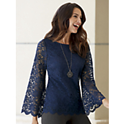 pretty appealing lace top