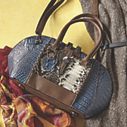 tisha croco bag by marc chantal