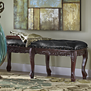 courtly 6 leg bench