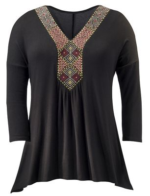 Helena Embroidered Top