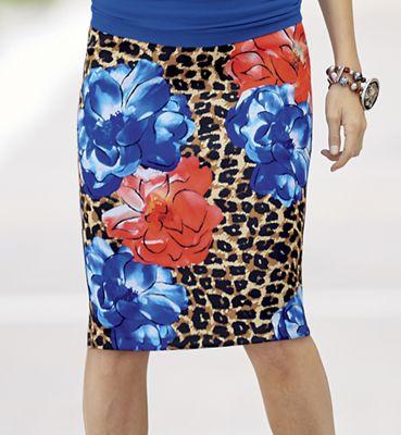 Wildly Wonderful Pencil Skirt