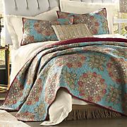 sumba oversized quilt and sham