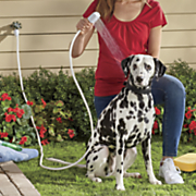 indoor outdoor pet faucet sprayer by rinse ace
