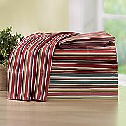 250 thread count cotton stripe sheet set