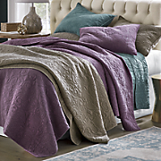 sonoma piece dyed oversized quilt and sham
