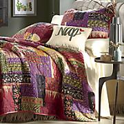 gemma oversized quilt and sham