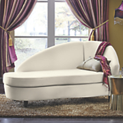 curved chaise