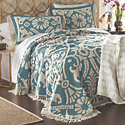 colleen chenille bedspread and sham