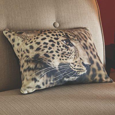 Leopard Profile Pillow