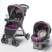 fast action click connect travel system by graco