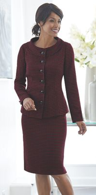 Vogue Skirt Suit