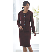 vogue skirt suit 44
