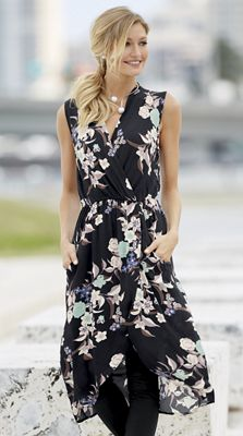 Rose Floral Tunic