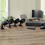 4 camera surveillance system with dvr