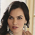 Faux Pearl Multi-Chain Earrings