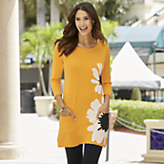 sunshine sweater tunic
