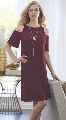 Layla Cold-Shoulder Dress