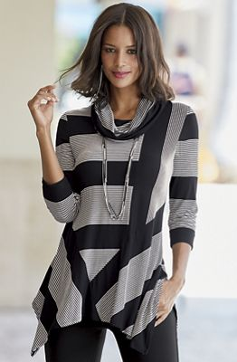 Now or Never Stripe Top