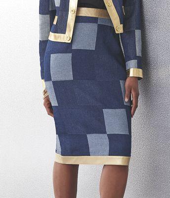 London Denim Skirt