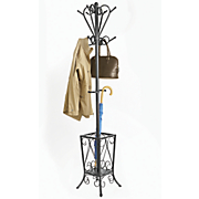 scroll coat rack   umbrella stand