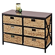 6 basket storage chest