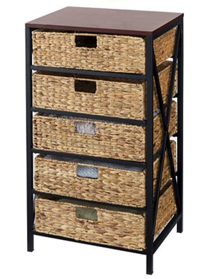 5-Basket Storage Tower