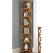 bayview 6 tier corner shelf