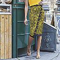 Nika Faux-Wrap Skirt