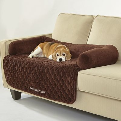 Large Personalized Furniture Protector with Bolster
