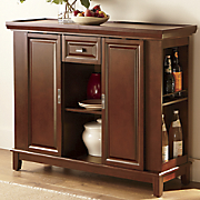 wine buffet cabinet