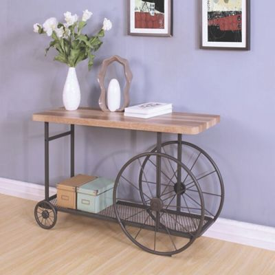 Wesley Wagon Console Table