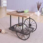 wesley wagon end table