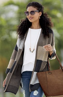 Oversized Cardigan Jacket