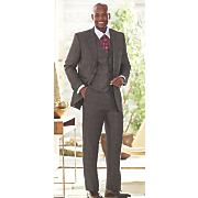 steve harvey plaid suit