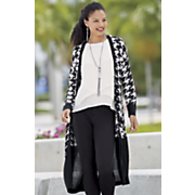 houndstooth pocket duster