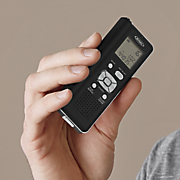4 gb digital voice recorder with microsd card slot by jensen