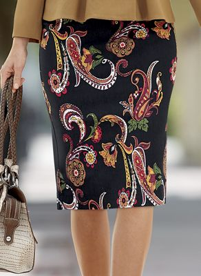 Andrea Pencil Skirt