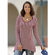 jump on the bandwagon stripe top
