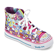 kids  twinkle toes shuffles chat time shoe by skechers