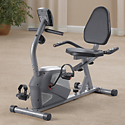 magnetic recumbent exercise bike by body flex sports