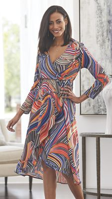 Curved Lines Dress