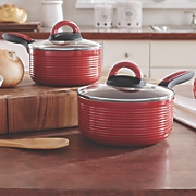 ribbed 4 pc  saucepan set by ginny s