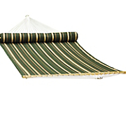 quilted hammock with pillow