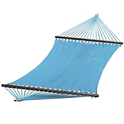 deluxe caribbean style rope hammock
