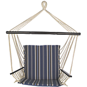 bliss metro striped reversible hammock chair