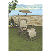 gravity free chairs with sunshade and tray